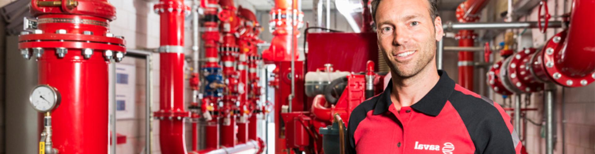 Außendienst Software für Saval Brandschutz – ORTEC