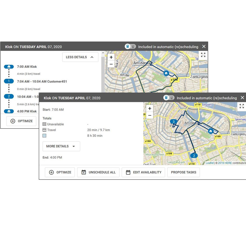 Operative Tourenplanung Außendienst Software – ORTEC
